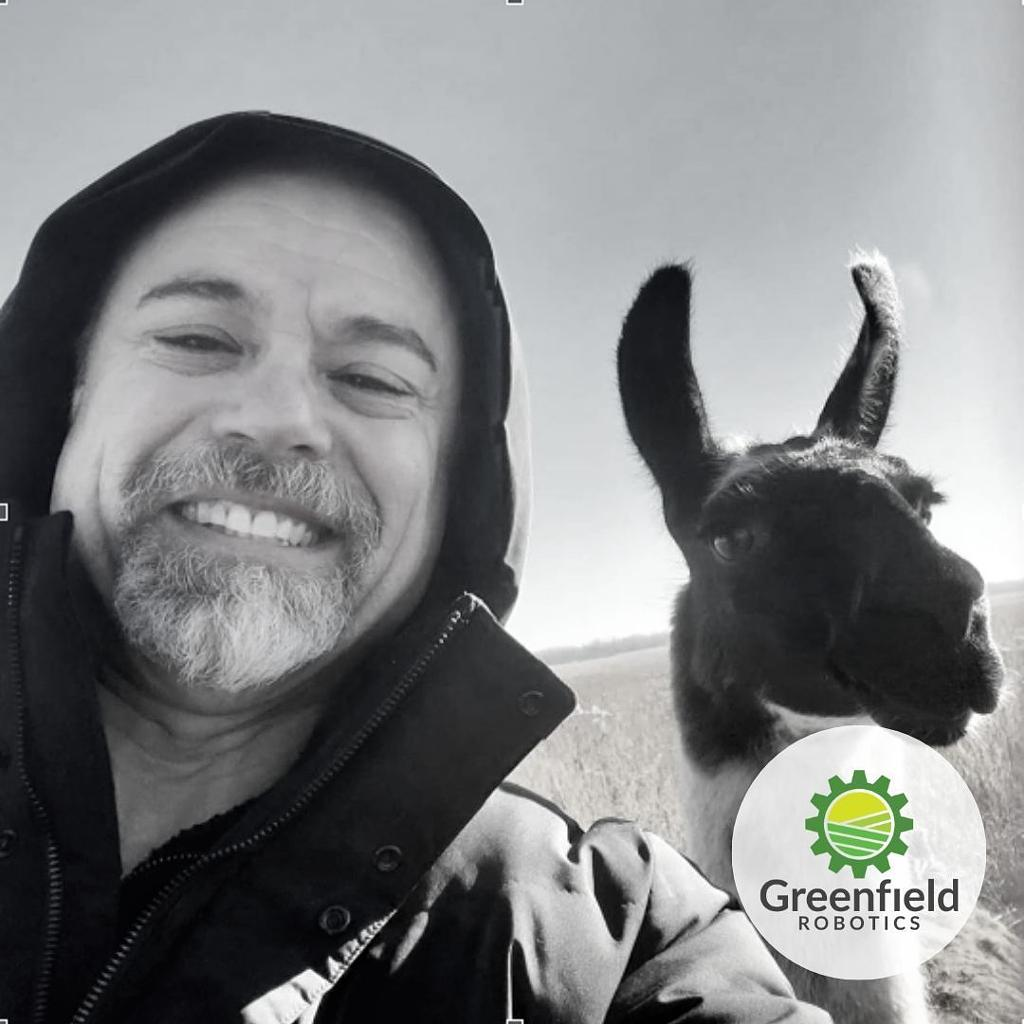 Chairman Jay Samit with Warren G., our Global Head of Sheep Wrangling.